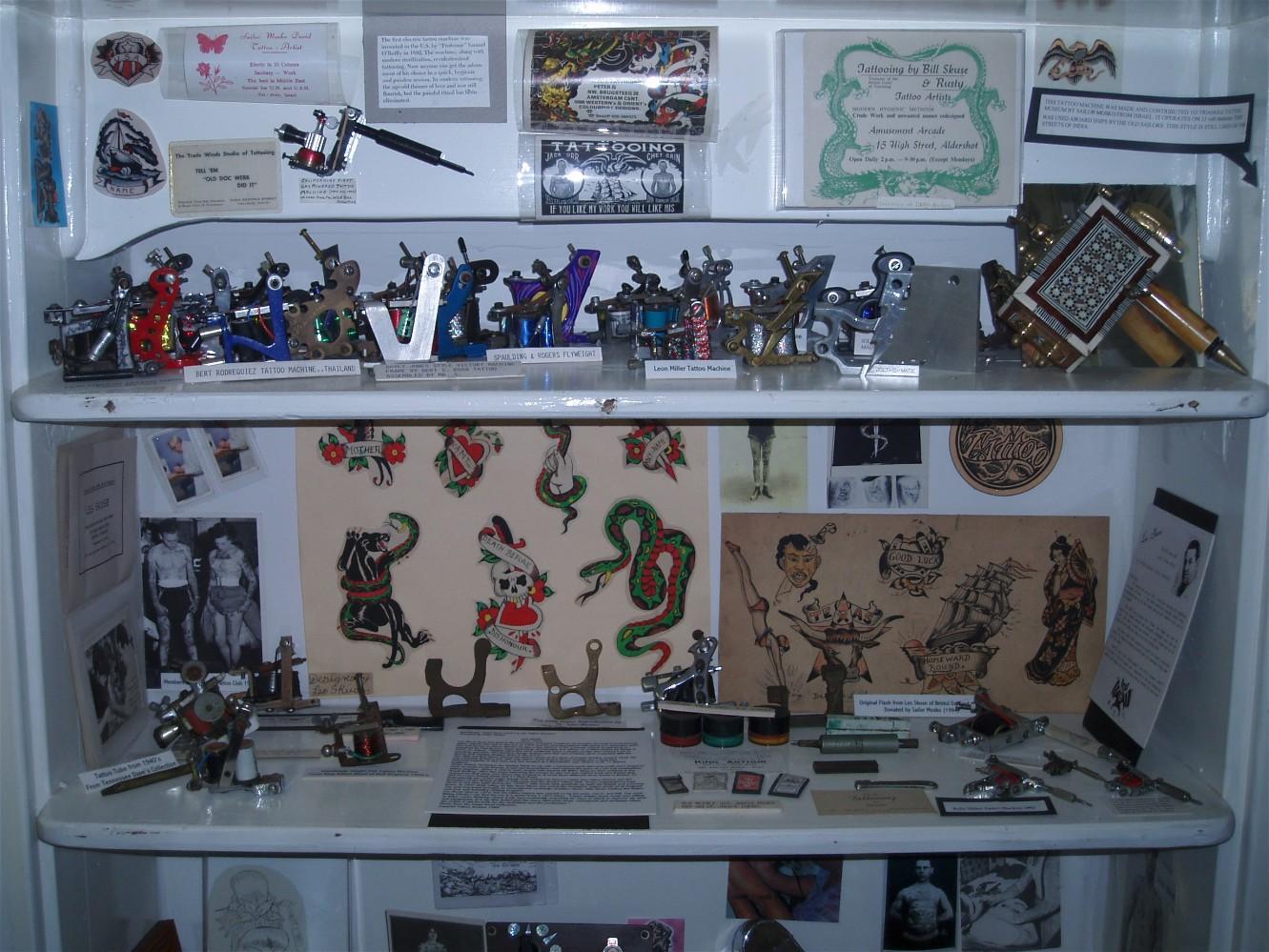 Tattoo Machine Exhibit