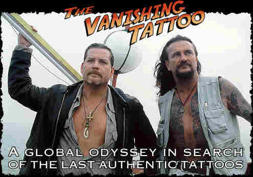 The Vanishing Tattoos' Vince Hemingson and Thomas Lockhart will travel the
